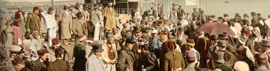 Άφιξη στο λιμάνι (Αλγέρι, περ. 1899)