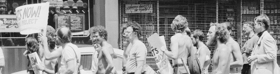 Διαδήλωση για τα δικαιώματα των ομοφυλοφίλων (Νέα Υόρκη, 1976)