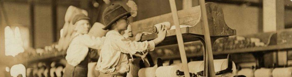 Παιδιά εργάτες υφαντουργίας στη Μακόν (ΗΠΑ, 1909)