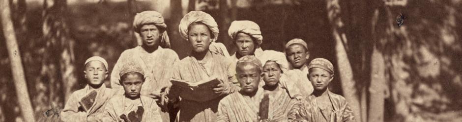Μουσουλμάνοι μαθητές στην Κεντρική Ασία (περ. 1865-72)