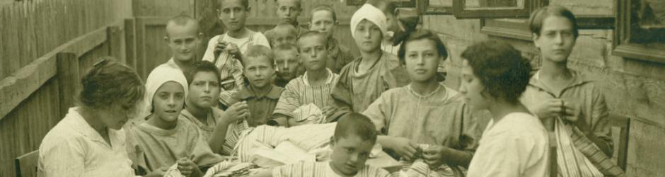Ορφανοτροφείο στο Μπρεστ-Λίτοβσκ (Πολωνία, 1921)