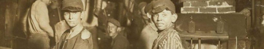 Μεσάνυχτα σε εργοστάσιο υαλουργίας (Ιντιάνα, 1908)