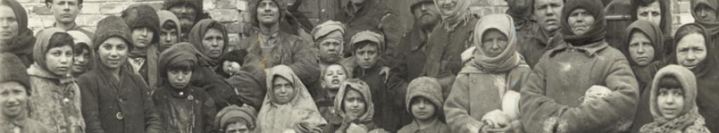 Περιμένοντας το συσσίτιο (Ουκρανία, 1921)